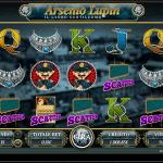 La slot machine Arsenio Lupin con un jackpot progressivo