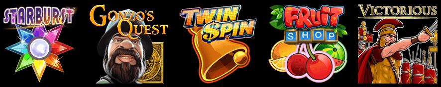 Alcuni dei giochi di bwin