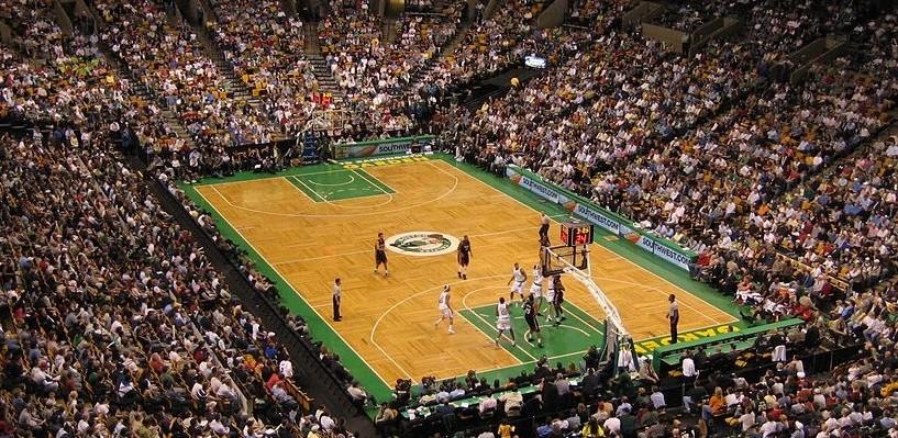 Una partita basket dell'NBA