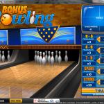 Un gioco arcade, il Bonus Bowling