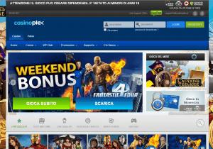 Il sito con un bonus e il gioco del mese