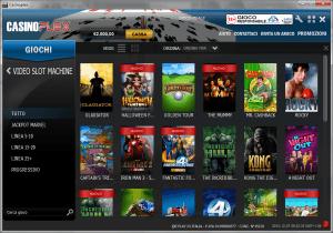 Il software casinò che ha più giochi del sito