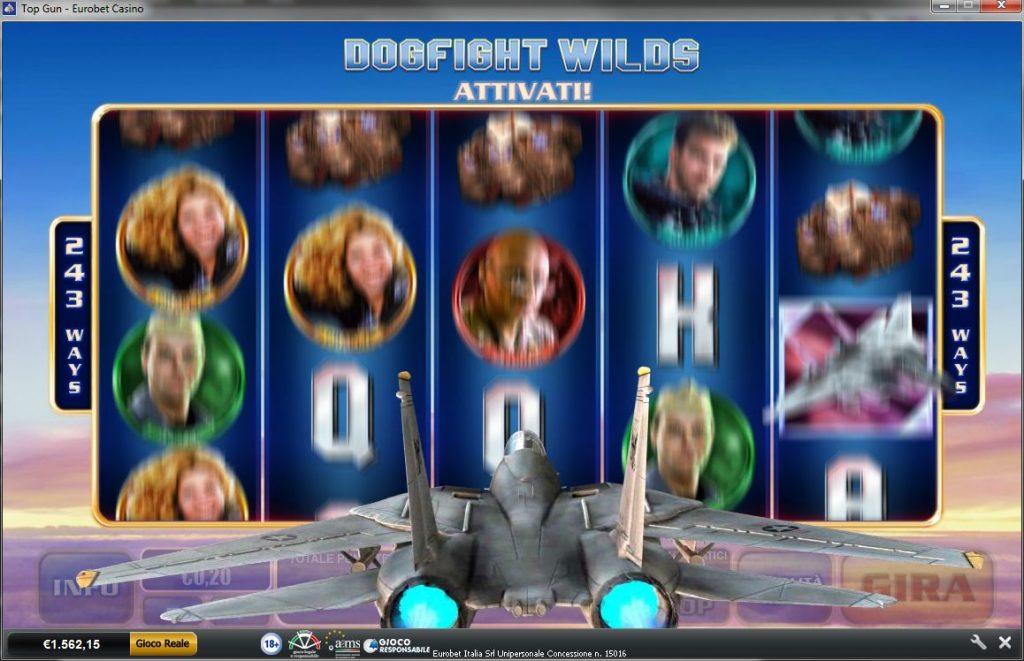 I Dogfight Wilds a Top Gun