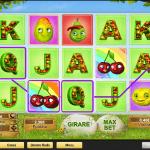 La slot machine Fruity Friends a 5 rulli e 25 linee vincenti