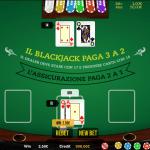 Questo è il blackjack regolare, ma il gameplay del blackjack live è molto simile