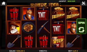 Perché Klondike Fever è stata sviluppata da Capecod, è uno dei pochi giochi che può essere giocati su dispositivi mobili